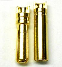 C0405x1 RC Connector 4mm Gold Plated Male and Female Bullet Banana x 1 Set
