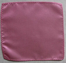 Handkerchief MENS Hankie NEW Top Pocket Square SHIMMERY PINK