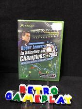 JEU VIDEO XBOX ROGER LEMERRE - LA SELECTION DES CHAMPION 2003 - NEUF SOUS BLISTE