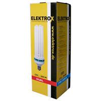 Elektrox 200-W 200-Watt Dual Energiesparlampe 2100K Blüte ESL CFL Pflanzenlampe