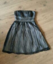 LADIES STUNNING STRAPLESS SILK DRESS BY WHITE HOUSE BLACK MARKET SIZE 4 €100