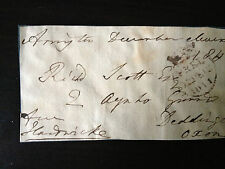 CHARLES PHILIP YORKE - NAVAL COMMANDER & TORY M.P.- SIGNED ENVELOPE FRONT