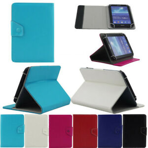 Universal Stand Leather Case Cover For Barnes Noble Nook Tablet / Nook Color