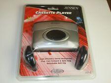 New in Sealed Package Jensen SC-6 Cassette Player Clip Headphones   T12