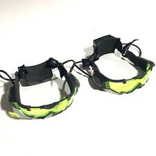 Wild Planet Spy Gear 2 Sets SVG Night Vision Glasses/Goggles Light Up Green