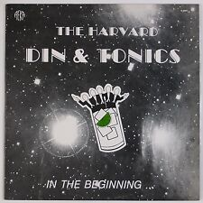 THE HARVARD DIN & TONICS: In the Beginning USA Private A Capella '83 Orig LP