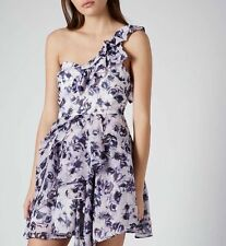 Topshop Chiffon Party One Shoulder Dresses for Women