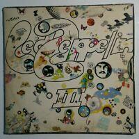 Led Zeppelin III 3 SD 7201 Vinyl LP Record Album Pinwheel