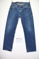 Levi's 751 Boyfriend (Cod. H1843) tg 48 W34 L32 jeans usato vintage