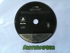 Spice world game Ps1 Sony PlayStation promo promotional game Disc spice girls