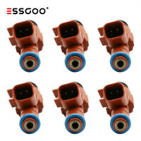 Set Of 6 Fuel Injector 12 Hole Nozzle For Jeep Cherokee 99-04 4.0L EV6 24LB