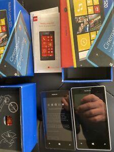 Lot 2 Nokia Lumia 520 - 8 Go - Noir (1 Désimlocké, bloqué SFR second)