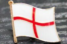 ENGLAND ST GEORGE Metal Flag Lapel Pin Badge *NEW*