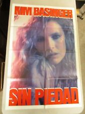 Vintage 1 Sheet 27x41 Movie Poster Sin Piedad 1986 Kim Basinger No Mercy