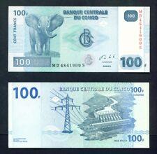 Congo Dr (Kinshasa) - 2013 100 francs UNC banknote
