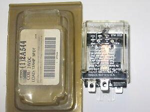 Dayton 2A544 General Purpose SPDT 5-Pin Relay 24VDC Coil - 13 Amp Load