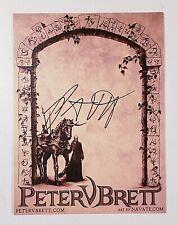 Peter V. Brett Signed Book Plate