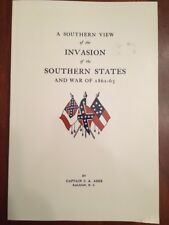 RARE Southern View Invasion Civil War 1861-1865, Ashe, Raleigh, North Carolina