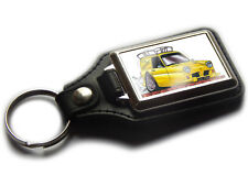 ONLY FOOLS AND HORSES Reliant TV Series Koolart Quality Leather & Chrome Keyring