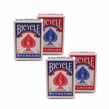 4 Decks Bicycle US Standard Playing Cards Poker Card Game Made in USA