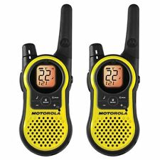 NEW Motorola MH230R 23 Mile Range 22 Channel FRS GMRS Two Way Radio Pair