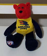 ADELAIDE CROWS BEANIE BABY TOY 32 ON HIS BACK! AFL FOOTBALL TOY!