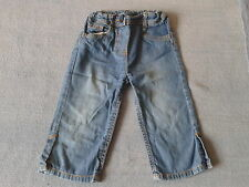 Girls 2-3 Years - Light weight Summer Cropped Jeans - Marks & Spencer