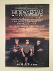 THUNDAMENTALS 2014 Australian Tour Poster A2 So We Can Remember OZ HIP HOP **NEW