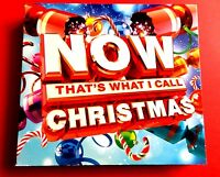 NOW THAT'S WHAT I CALL CHRISTMAS 3 x CD 2015  *VG/EX*   MARIAH CAREY / WHAM