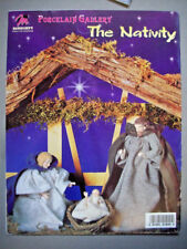 1990's The Nativity clothing pattern for  porcelain doll heads / hands Christmas