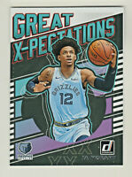 2019-20 Donruss GREAT X-PECTATIONS JA MORANT RC Rookie Grizzlies QTY AVAILABLE