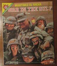 EL JUEVES - PENDONES DEL HUMOR 72 - WAR IN THE GULF - MARTINEZ EL FACHA