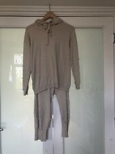 Lucy Sparks Pearl Embellished Leisure Suit Loungewear Size S/M