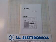 MANUALE IN ITALIANO  istruzioni d'uso per SANGEAN  ATS-505