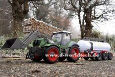 XXL RC Farmer Traktor 5 Kanal Funk-Ferngesteuert mit Milch-Wassertank Trecker
