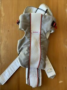 Baby Bjorn Baby Carrier - Gray & White Mesh 8 to 22 lbs Sling Sport Cool Air