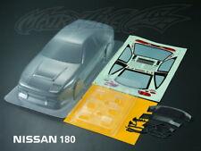 Karosserie  Nissan 180SX Lexan Body  (clear+decals ) Rc Car 1:10 Drift