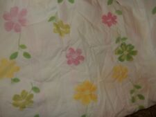 Pottery barn Kids Floral Flowers Striped Fitted Crib Sheet (Fabric) Toddler bed