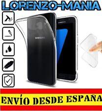 Funda Silicona Carcasa posterior Samsung Galaxy S7 EDGE Transparente 1mm