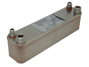 Wärmetauscher Edelstahl Kondensator Split-Klima Umbau R410A, R134A, R407C, 7kW
