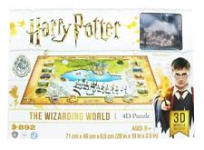 Harry Potter 4D Puzzle of the Wizarding World (892 Pieces – 3D Models Included)