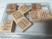 STAMPIN UP QUICK AND CUTE  SET OF 8 - 2002