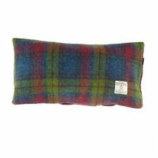 Harris Tweed Rectangular Cushion in Multi Colour Tartan LB4001-COL46
