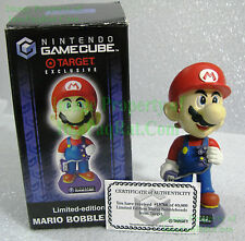 Mario Bobblehead Nintendo GameCube w/ COA 2002 Limited Target Exclusive Bobble