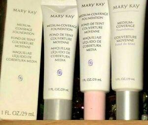 Mary Kay MEDIUM COVERAGE Liquid Foundation CHOOSE YOUR SHADE Fast Ship NEW