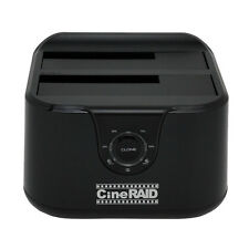 Cineraid CR-H238, USB 3.1 Type C, Gen. 2, 10 Gbps, 2 Bay HDD Duplicator