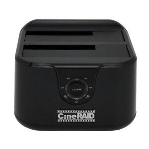 Cineraid CR-H238, USB 3.1 Type C, Gen. 2, 10 Gbps, 2 Bay HDD Duplicator