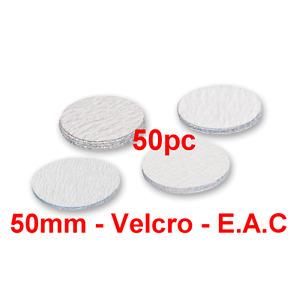 "50mm 240 Grits 50pcs Hook & Loop 2"" Sanding Discs Made By E.A.C UK"