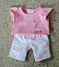 Build A Bear Disney Princess Sleeping Beauty T Shirt & Trousers