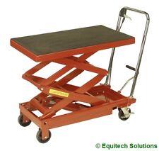 Sealey Tools HPT400H Hydraulic High Lift Lifting Platform Truck 400Kg Warehouse